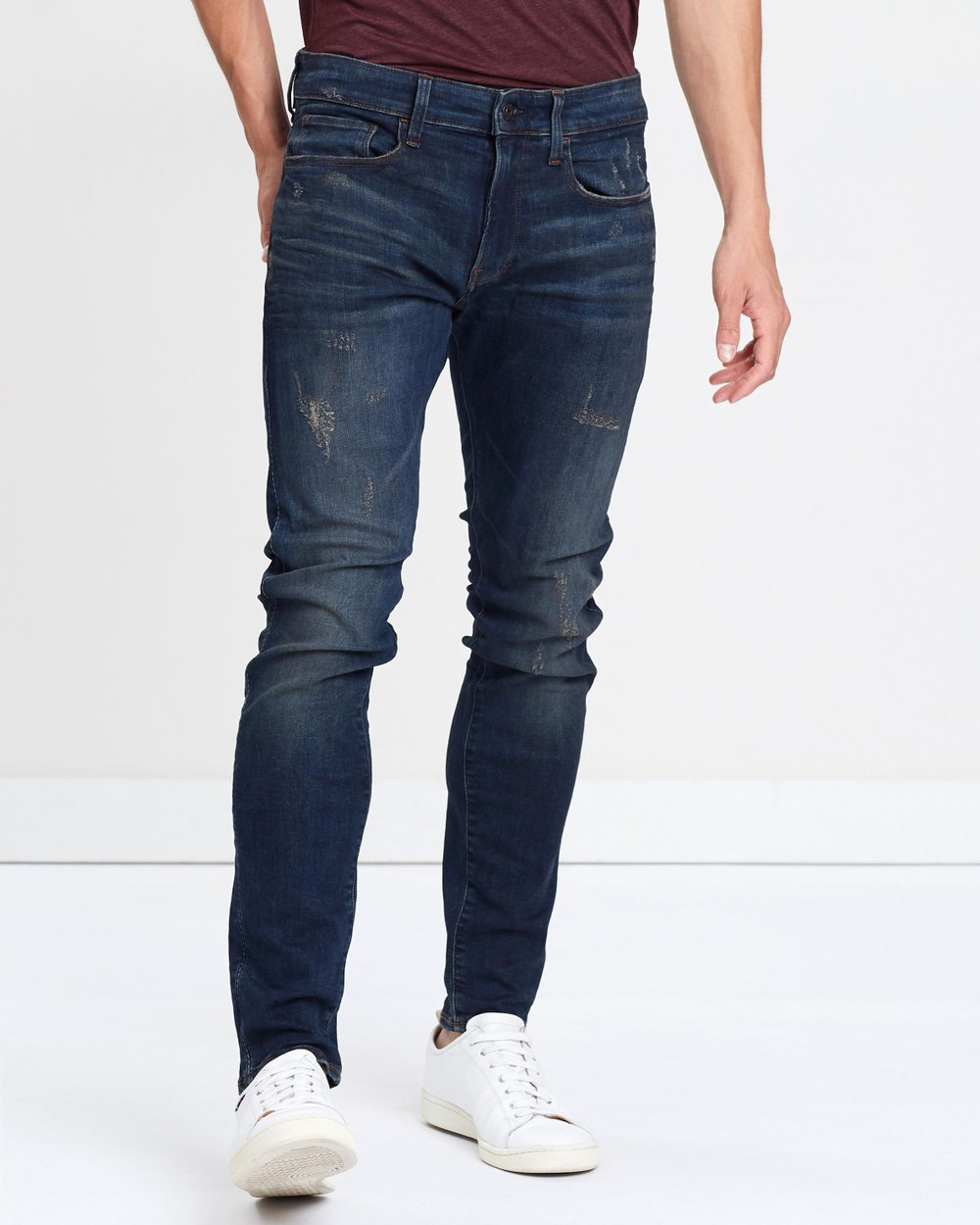 69980d05ec2 3301 Deconstructed Skinny Jeans by G-Star RAW Online | THE ICONIC |  Australia