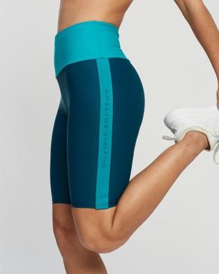 Horizon The Oxygen Shorts - 1/2 Tights (Green)