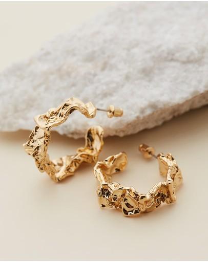Amber Sceats Carolina Earrings Gold