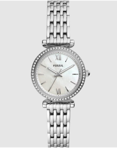 Fossil - Carlie Mini Silver-Tone Analogue Watch