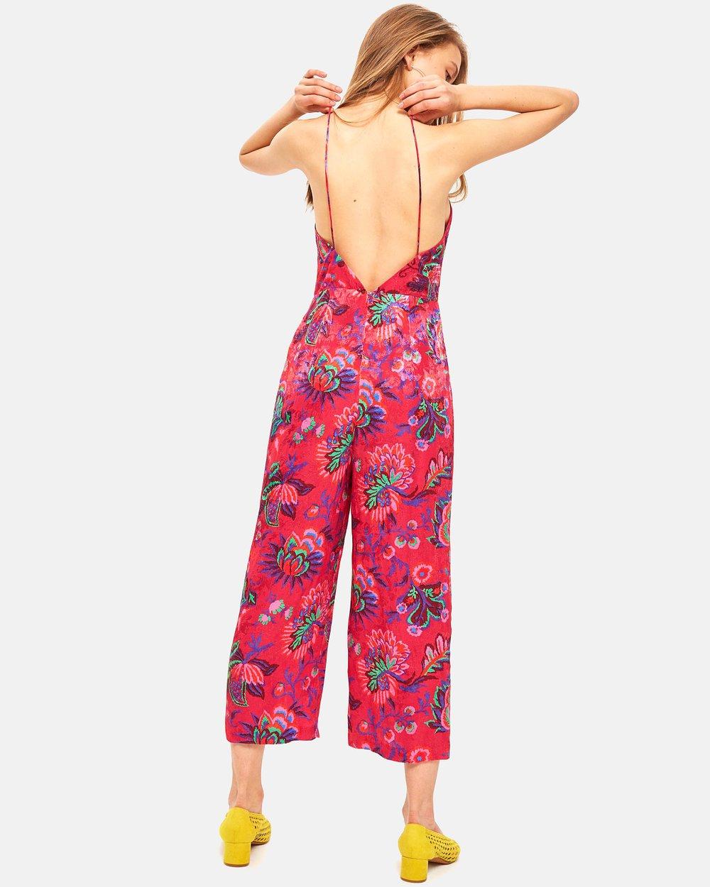 14e502df913a Floral Jumpsuit by TOPSHOP Online