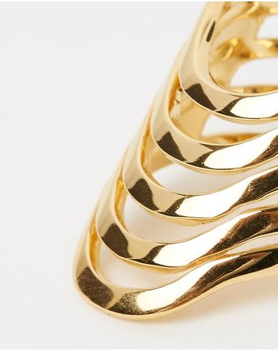 Saint Valentine Mezcal Ring Gold