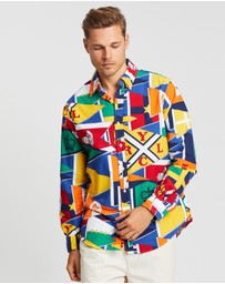 Polo Ralph Lauren - LS Printed Oxford Sport Shirt