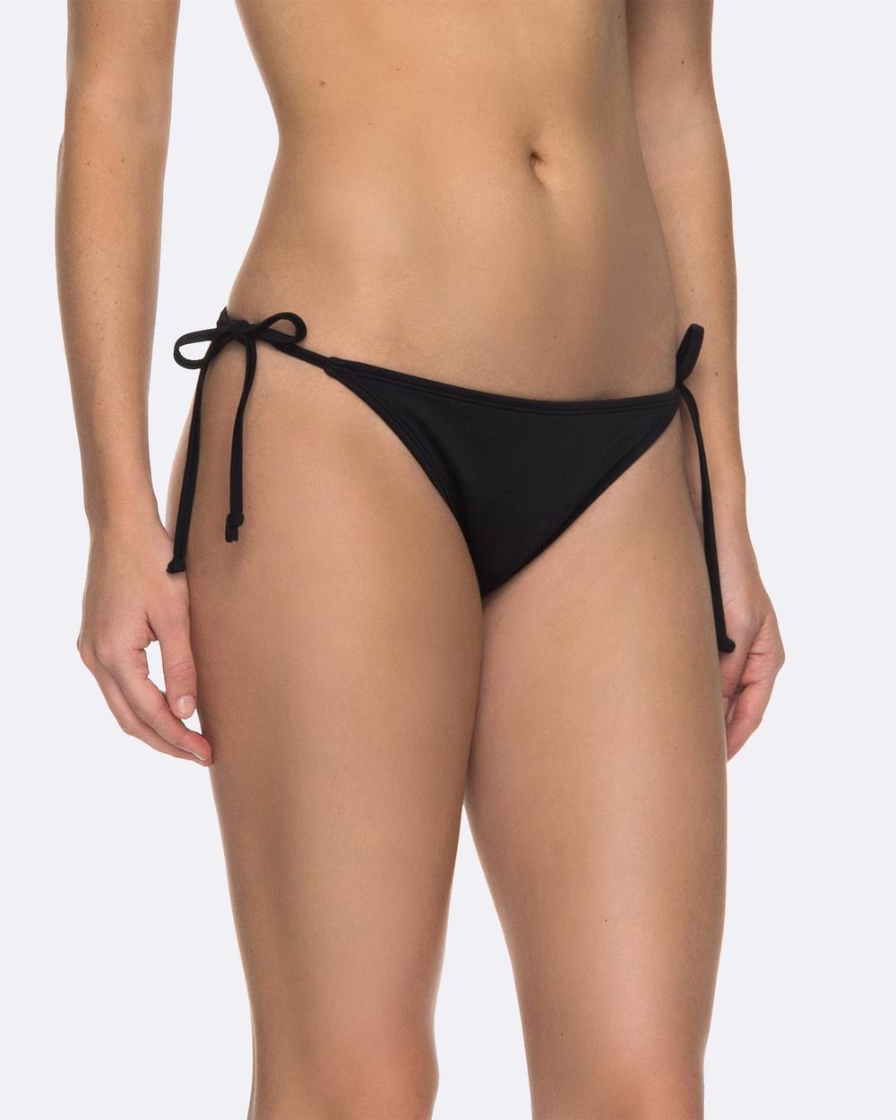 Roxy Womens ROXY Essentials Surfer Separate Bikini Pant Bikini Bottoms Anthracite Womens ROXY Essentials Surfer Separate Bikini Pant