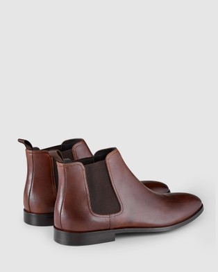 Aquila Dayton Chelsea Boots - Dress Boots (Tan)
