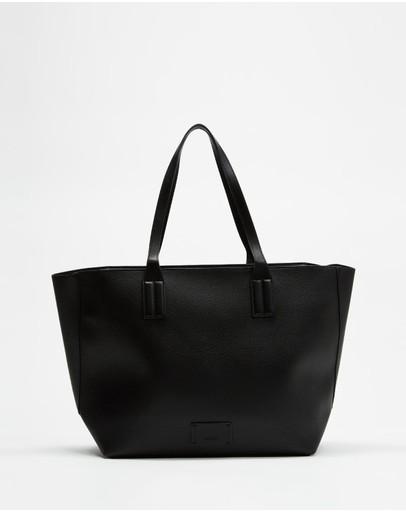 M.n.g Edison Bag Black