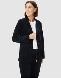 French Connection - Boyfriend Cord Blazer