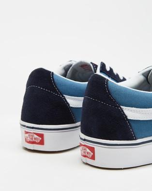 Vans ComfyCush Sk8 Low Classic   Unisex - Sneakers (Blue)