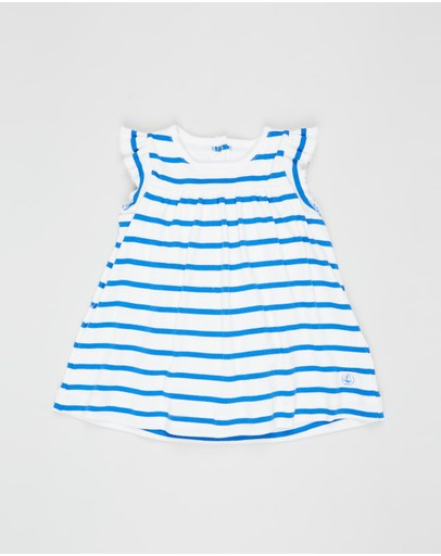 Petit Bateau - Striped Bodysuit Dress - Babies