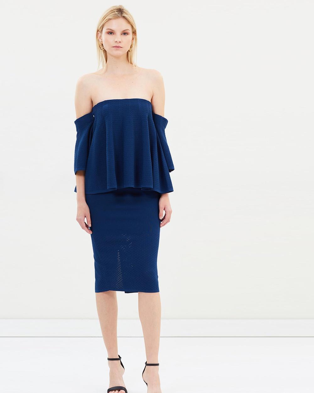 Sass & Bide Dreamscape Knit Dress Dresses Submarine Dreamscape Knit Dress