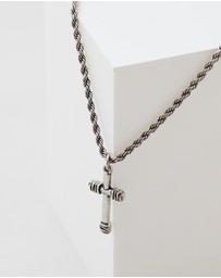 Icon Brand - Cross It Off Necklace