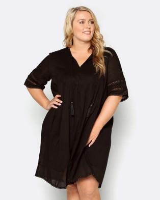 Adrift – Mantra Dress Black