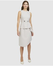 ARIS - Layered Snap Belt Dress