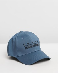 Under Armour - Wordmark Stretch Fit Cap - Men's
