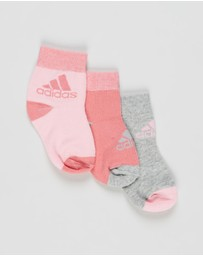 adidas Performance - Ankle Socks 3-Pack - Kids-Teens
