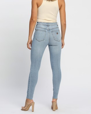 Abrand A High Skinny Ankle Basher Jeans Crop Ashley