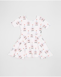 Rock Your Kid - Party Girl Short Sleeve Mabel Dress - Kids