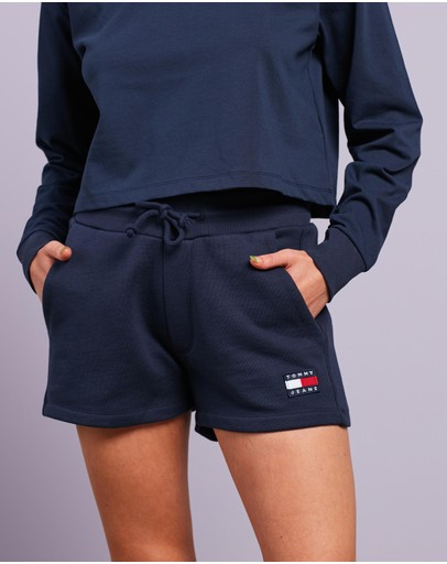 Tommy Jeans - Tommy Badge Fleece Sweatshorts