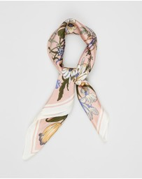Johnny Loves Rosie - ​Floral Silky Scarf Hair Tie