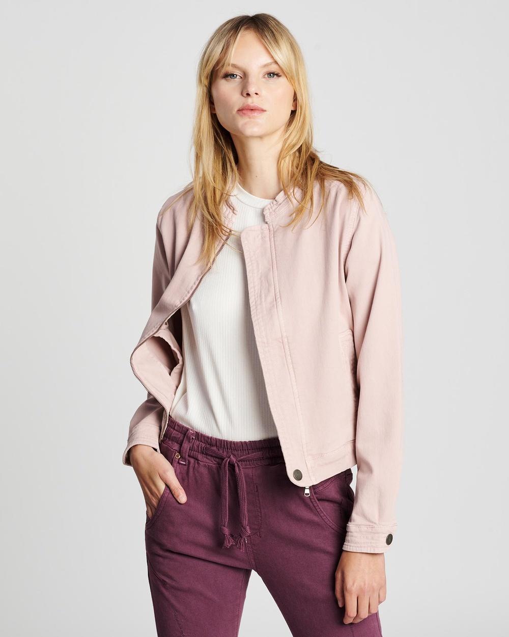 DRICOPER DENIM Walker Roxy Jacket Coats & Jackets Dusty Pink Australia