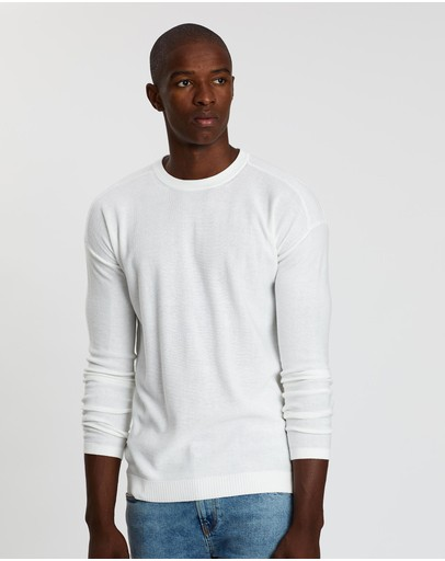 Scotch & Soda - Club Nomade Easy Crew Neck Knit
