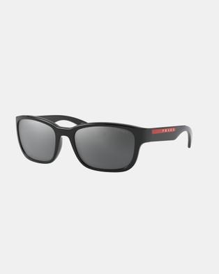 Prada Linea Rossa PS05VS - Sunglasses (Black)