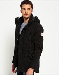Superdry - Rookie Military Parka Jacket