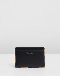 Paul Smith - Striped Edge Card Case