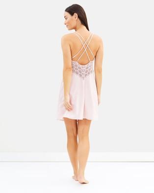 Homebodii Ava Slip Dress   Blush - Sleepwear (Blush)
