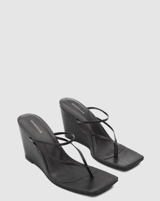 Nakedvice The Jordan Wedge Heels Black