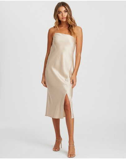 Chancery Caro Dress Champagne