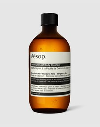 Aesop - Geranium Leaf Body Cleanser screw cap 500ml
