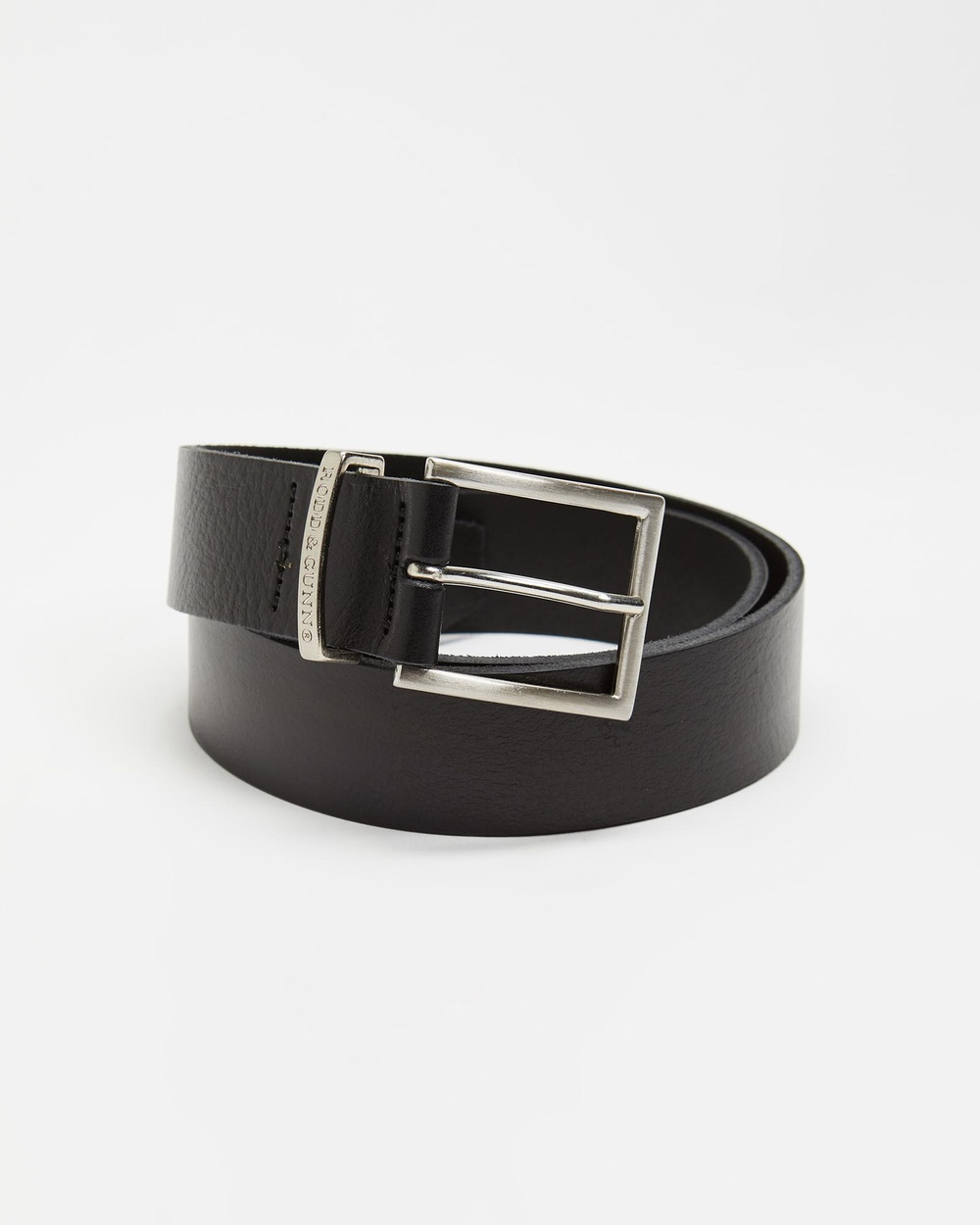 Rodd & Gunn Summit Lane Belt Belts Nero
