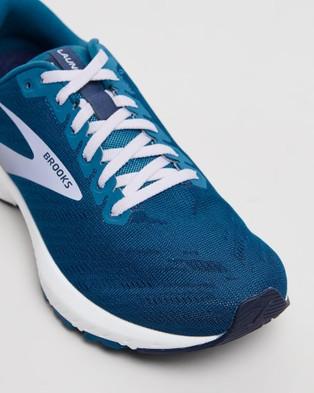 Brooks Launch 7   Women's - Outdoor Shoes (Blue)