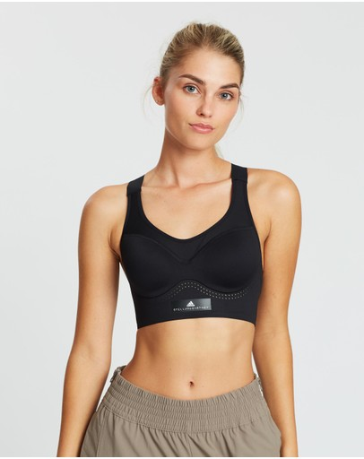 Adidas By Stella Mccartney Stronger For It Soft Bra Black