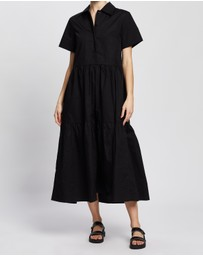 AERE - Organic Cotton Poplin Dress