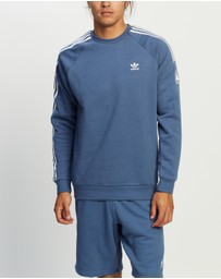 adidas Originals - 3D Trefoil 3-Stripes Crew