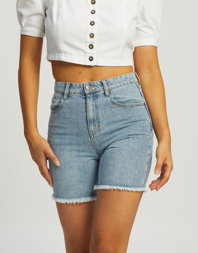 Rusty - All Day Long Denim Shorts