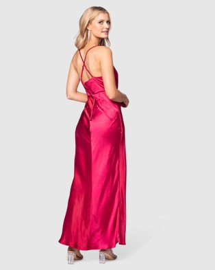 Pilgrim Abrielle Gown - Bridesmaid Dresses (Cerise)