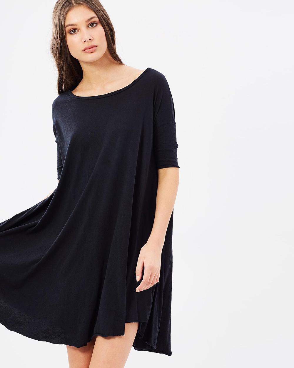 Primness Pop Dress Dresses Black Pop Dress