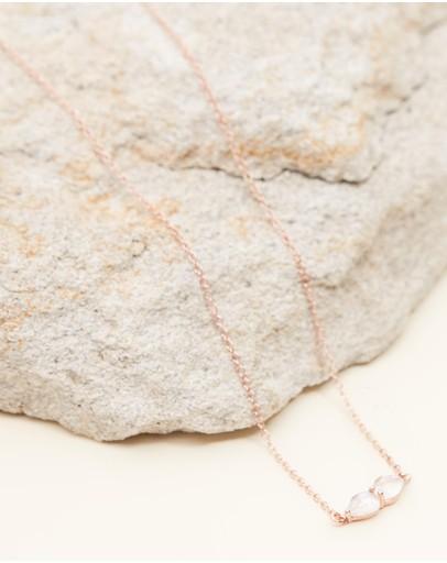 El&ro Lucine Necklace Rose Gold