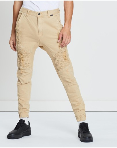 Kiss Chacey Zeppelin Pants Overdyed Sand