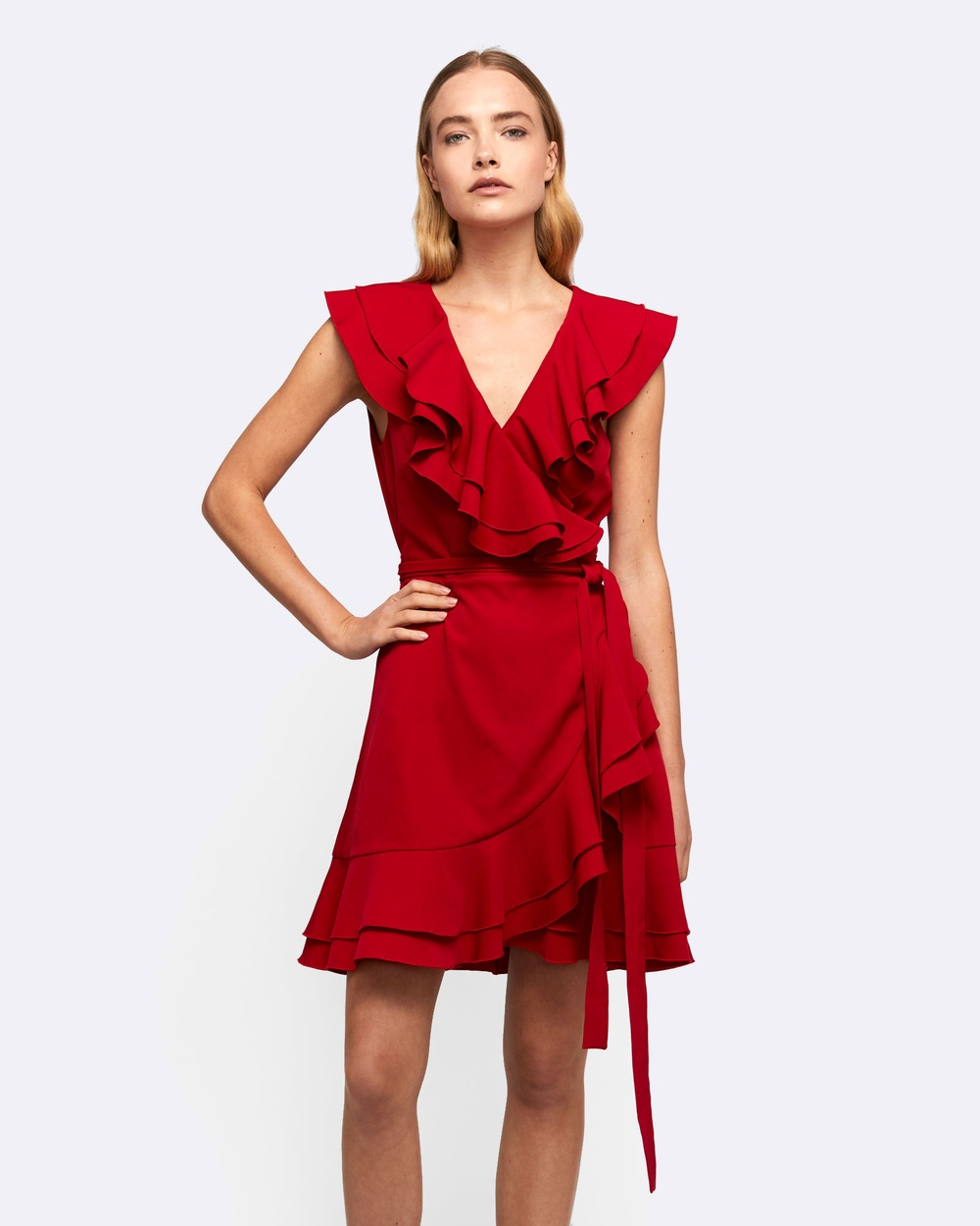 MVN Me Before You Dress Dresses Red Me Before You Dress