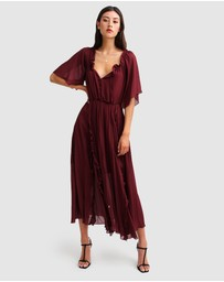 Belle & Bloom - Amour Amour Ruffled Midi Dress