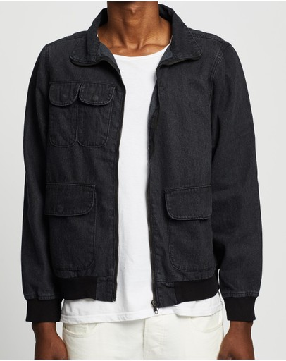Commune - Denim Bomber Jacket