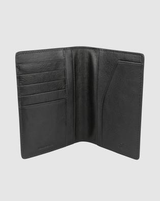 Florsheim Newark Passport Wallet - Wallets (Black)