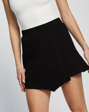 Dazie Venus Tennis Skirt - Skirts (Black)