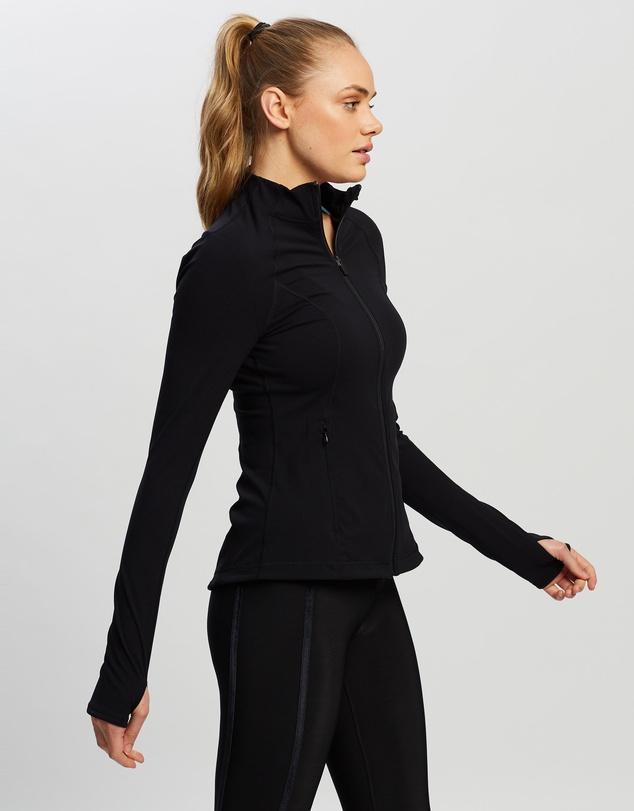 Women Power Workout Zip Through Jacket