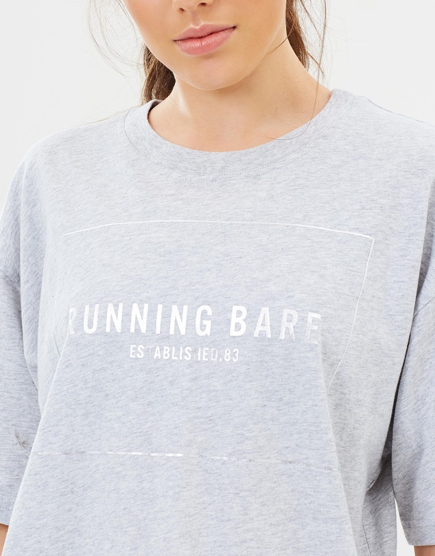 Running Bare - Two Tribes 90s Relax Tee