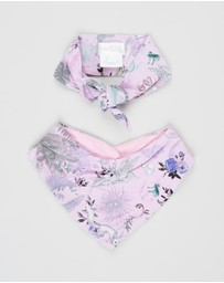 Camilla - Headband and Bib Set - Babies